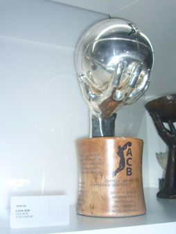 1 Spanish ACB basketball league cup 2008-09. FC Barcelona museum | So