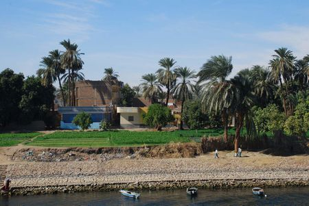 scene from River Nile Egypt