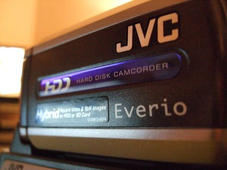 JVC HDD Camcorder