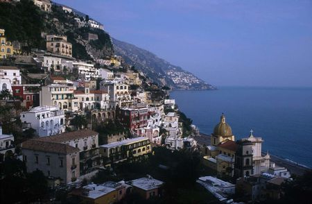 Positano, Italy: View To The North