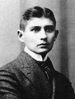 1 3:4 Portrait crop of Franz Kafka | Source http://www. zeno. org/Lite