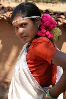 inde Bastar femme muria en habit de danse | Source | Date 2005-02 | Au