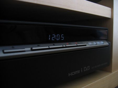 Sony DVD/HDD Recorder (Display and buttons)
