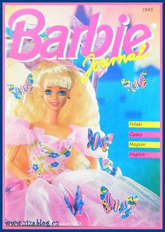 Barbie Journal 1995 Czech