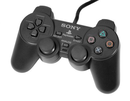 1 The PlayStation DualShock controller, for the original PlayStation.
