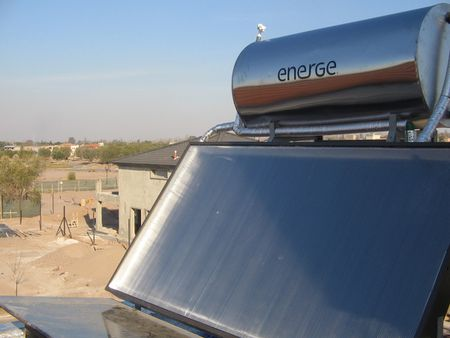 1 solar thermal thermosyphon water heater 1 Equipo compacto termosifó