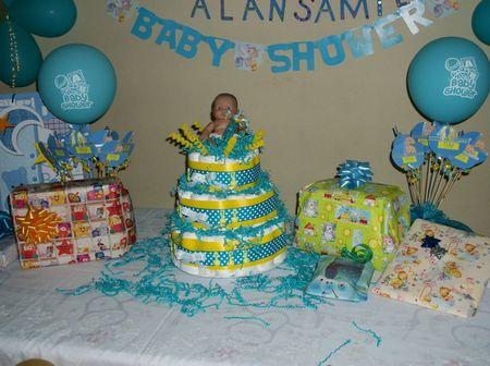 Decoraciónes sencillas baby shower - Imagui