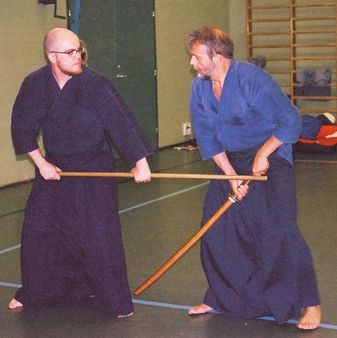 Old Japanese Martial art called Jodo. 2003-07-19 | Author Lakkisto J