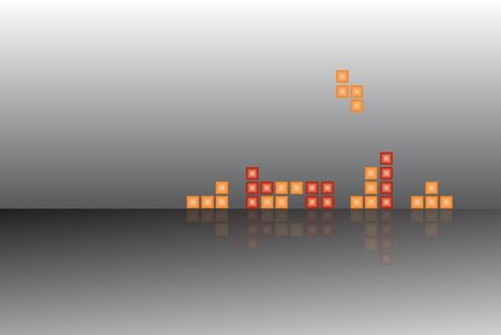 abstract tetris background