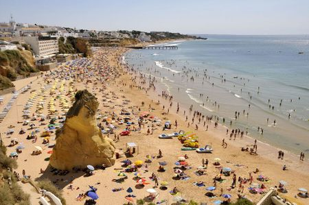 1 Strand bei Albufeira | Source | Author CTHOE | Date 2008-08-19 | Pe