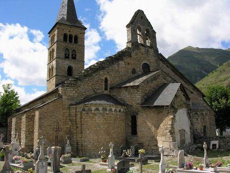 Vista Generalde santa Maria d'Arties   Source http://www. flickr. com/