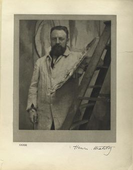 1 Henri Matisse, Paris, May 13th, 1913. In: Men of mark. (published 19