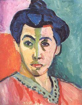 Matisse.La línea verde