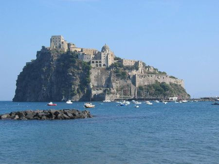 Photo of Il Castello Aragonese (2004), Ischia, Italy   Source from