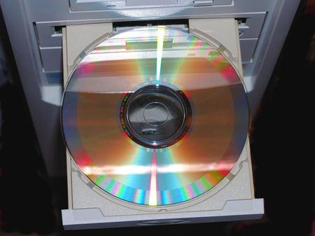 Compact disc in Drive