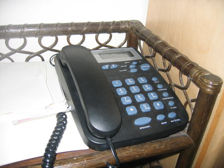 Our VoIP phone