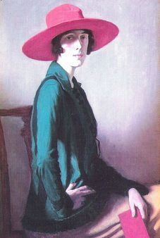 1 Portreat of Vita Sackville-West by William Strang | Source http://ww