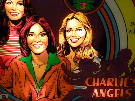 Charlie's Angles Pinball Machine
