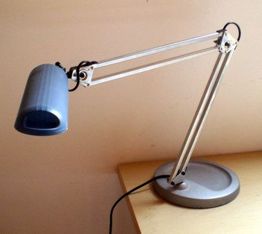1 Electric lamp with parallelogram balanced-arm mechanism Category:Ba
