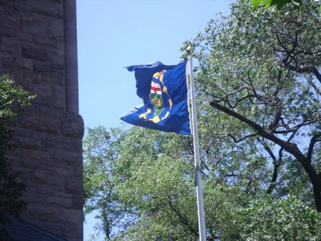 1 Lieutenant Governor's flag at Queen's Park | Source | of Canadian