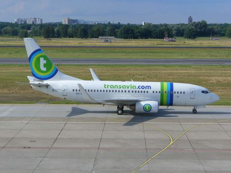 1 Boeing 737-700 with Winglets of transavia. com at Berlin Tegel Airpo