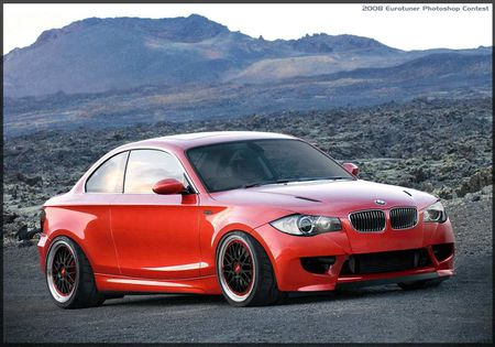 Eurotuner Magazine, April 2008 photoshop contest: Modified BMW 135i
