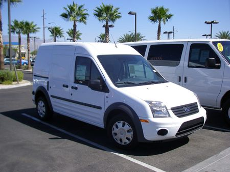 Ford Transit Connect 2010. | Source http://www. flickr. com/photos/36