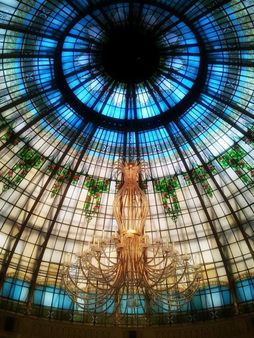 Gorgeous Stained glass dome