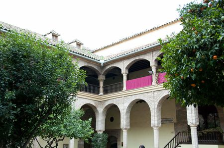courtyard in the Barrio de la Juderia