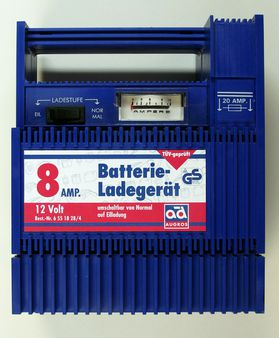 Charger for car batteries 12V/8A | Source | Date 2008 | Author Hannes