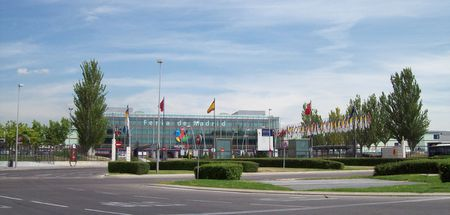 Entrance to Category:IFEMA | IFEMA 's installations in Category:Campo
