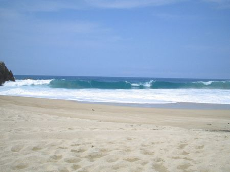 playa Maruata, Michoacan, Mexico | Source personal picture | Date 2006