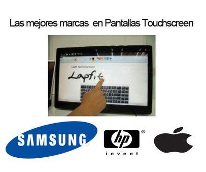 las mejores marcas de pantallas touchscreen monitores