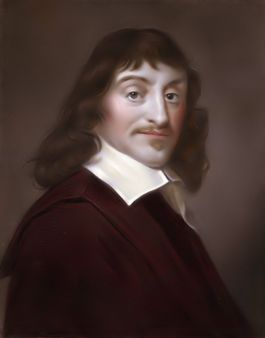 1 Descartes, after a painting by Francis Hals in the Gallery of the Lo
