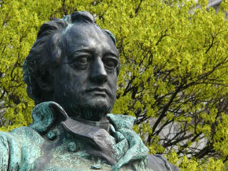 Goethe monument, detail | Source | Date 2007-03 | Author Zyance | Perm