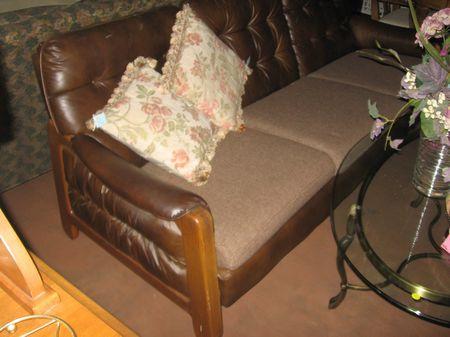 SOLD retro 1960's mid century sofa