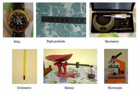 Algunos Instrumentos de medición