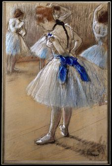 A study of a dancer, by Edgar Degas | Source 2001.202.2 | Date | Auth