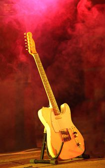 The guitar telecaster style