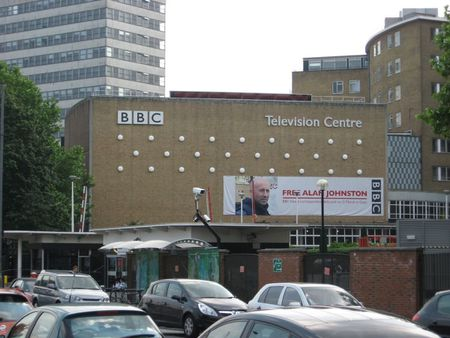 BBC Television Centre side