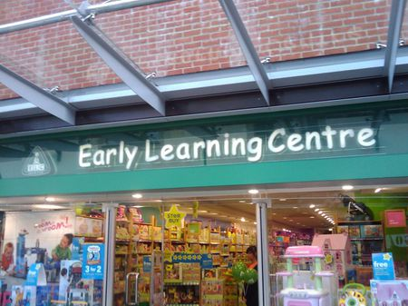 EUW! Not the early learning centre too?!