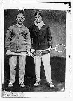 Soutar and Williams, tennis (LOC)