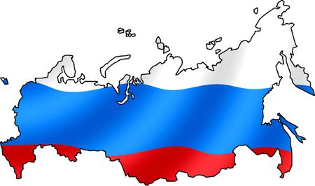RussianFlagsMap | Source conturs of map are from Image:BlankMap-Russia