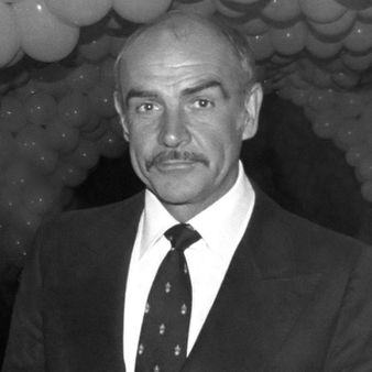 Sean Connery at the private party after the premiere of the movie Seem