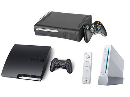 Xbox 360 vs Nintendo Wii vs PlayStation 3