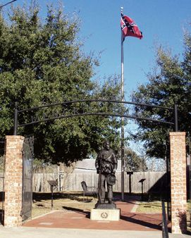 Confederate Memorial Plaza, Anderson, Texas 0108111521