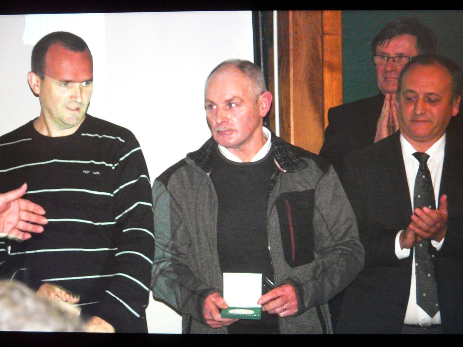 Album - remise de médaille au voeux du maire le 09/01/2015 + pot a la salle le 10/01/2015