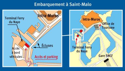 Plan-parking-Condor-Ferries-Terminal-Ferry-Saint-Malo