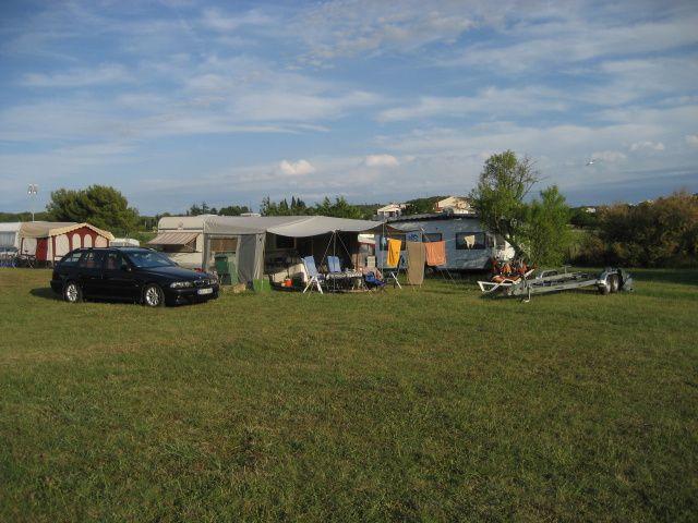Camping Valkanela Platz ohne