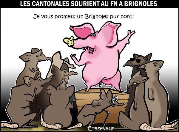 Le FN en tete a Brignoles-31a00